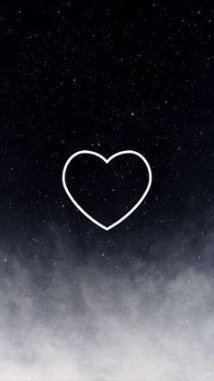 Simple Phone Wallpapers, Love Wallpaper Backgrounds, Space Phone Wallpaper, Cute Galaxy Wallpaper, Dark Wallpaper Iphone, Iphone Wallpaper Tumblr Aesthetic, Night Sky Wallpaper, Cute Emoji Wallpaper, Cellphone Wallpaper