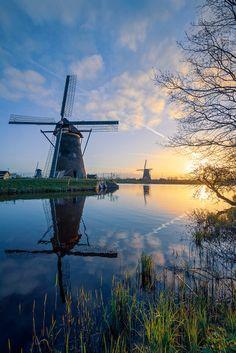 Beautiful Dream, Beautiful Places, Wind Power, Dance Art, Le Moulin, Wind Turbine, Netherlands, Dutch, Wind Mills