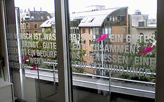 Fensterfolie & Sichtschutz in Stuttgart | Bertsch Beschriftungen
