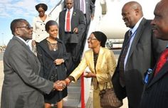 President Mugabe arrived in New York yesterday to attend two high level engagements pertaining to climate change mitigation and the Sustainable Development