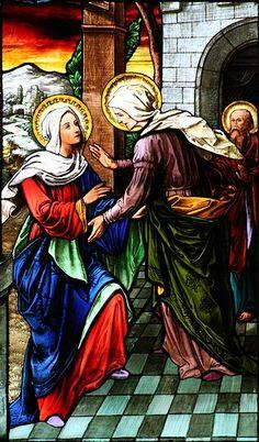 2) THE VISITATION OF MARY TO ELISABETH (Luk 1,39-49)  Hail, Mary, Mother of God!