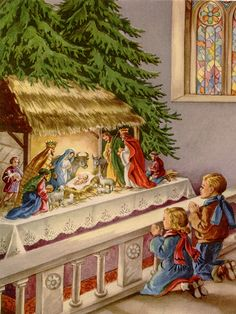 The Nativity It was St. Francis of Assisi who first gave us the creche or nativity scene. We have one in our Church at Christmas time so that we can all see what it may have looked like when Jesus was born in Bethlehem of Judea.
