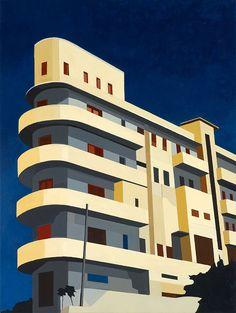 Andy Burgess (British, b. 1969), Bauhaus, Tel Aviv, 2010