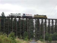 Holcomb Creek Trestle. Helvetia, Oregon - Home