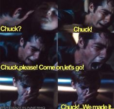 I was okay. I was heartbroken and a little teary-eyed watching this part, but I was okay... And then I saw Newt crying and I started bawling