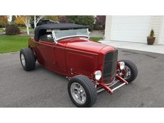 custom hot rod designs | 1932 Ford Roadster Hi-Boy Roadster V8-8 for sale | Hotrodhotline