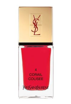 Wear your holiday spirit on your nails with this lavish polish by YSL. | Easy gift ideas from  Visa Checkout, the easier way to pay online.