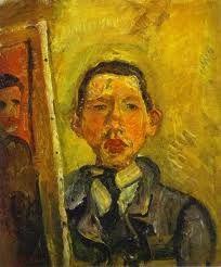 Soutine, autoportrait