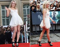 Evanna Lynch. Love Her Dress & Heels(: