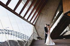 A wedding at the Sydney Opera House....beautiful!