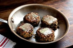 Why I'm Passionate about Food :) Vegetarian burger recipes.