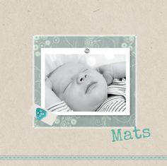 Vintage kaart in 2 formaten zigzag- en klapkaart verkrijgbaar bij geboortecollectie.nl