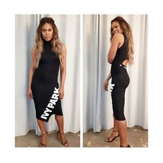 "16.5k Likes, 112 Comments - IVY PARK (@weareivypark) on Instagram: ""Regram from @lavernecox in our funnel midi dress. #IVYPARK"""