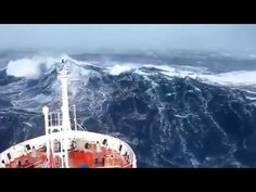These Mesmerizing Videos of Ships Going Through Storms Will Turn You Into a Landlubber for Life | Atlas Obscura