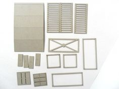 laser cut card shipping containters 6