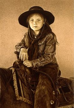 """Rachael"" by Carrie Ballantyne {1956~American}"
