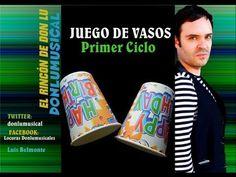 ▶ JUEGO DE VASOS 1º Educación Musical DONLUMUSICAL - YouTube