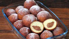 Pączki z czekoladą w 15 minut Pretzel Bites, Muffin, Bread, Fruit, Breakfast, Food, Crochet, Kuchen, Morning Coffee