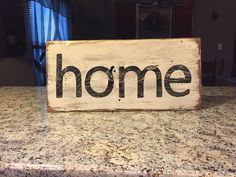 A personal favorite from my Etsy shop https://www.etsy.com/listing/269804930/home-sign-fixer-upper-sign-farmhouse