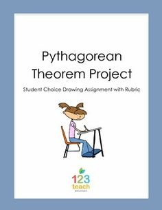 FREE! Pythagorean Theorem Drawing Project / Assignment wit