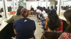 All 3 Star #Makeup & #HairAcademy student's fresh batches having their sessions