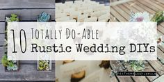I've known for years that I want a rustic, natural, woodsy wedding but I had no idea what it would take to get there- that is, until I got e...