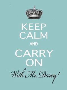 Note Cards  Keep Calm with Mr Darcy set of 4 by TurtleDoves, $8.50