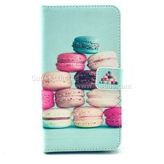 Colorful Macaroons Leather Wallet Case for Samsung Galaxy Note 3 N9000 N9005 FREE SHIPPING