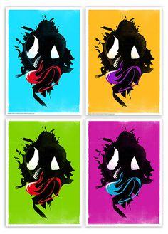 Spiderman & Venom  @thedesignersnursery.etsy.com  #spiderman, #venom, #thedesignersnursery