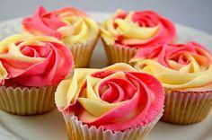 Rosas de magdalenas