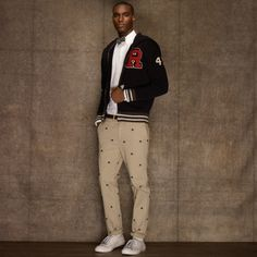 University Chino Skulls Pant - Men's Pants from Rugby Ralph Lauren-  These will be mine..