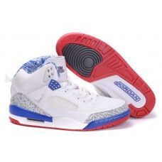 buy popular 1dbf9 ee955 Superb Air Jordan 3.5 Retro shoes for Men White Gray Blue Air Jordan 3, Nike
