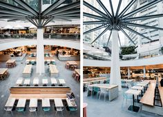 Colored Food Court   Architecture at Stylepark