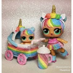LOL Surprise Dolls punk boi angel /& unicorn accessory set series 3 fancy playset