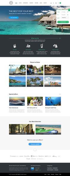 Best #Travel #WordPress Theme with #Reservation System