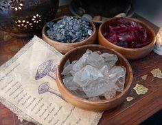 Skyrim Inspired Ingredients Bowls of Void Salts and by KateMurrays