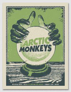 GigPosters.com - Arctic Monkeys