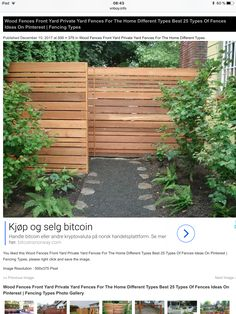 Types Of Fences, Yard, Outdoor Structures, Plants, Patio, Plant, Courtyards, Garden, Planets