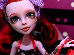 Monster High repaint | Monster High custom | Operetta