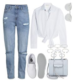 """""""Untitled #794"""" by r0sesandtea ❤ liked on Polyvore featuring Maje, Fendi, Rebecca Minkoff, Vans and Forever 21"""