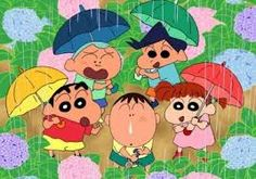 Image result for shin chan family
