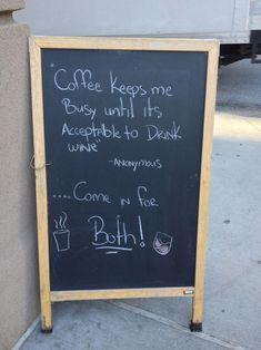 De 35 grappigste reclameborden voor cafés en koffiebars