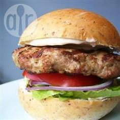 Turkey Burgers - delicious - didn't bother with egg whites just addes whole egg/s