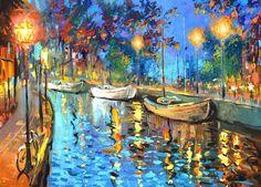 The Lights - Cuadros, Pinturas Al Oleo De Dmitry Spiros