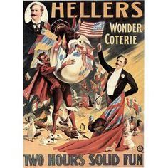 Hellers Wonder Coterie Magic Canvas Art - (24 x 36)