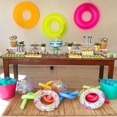 Kids Luau Parties, 13th Birthday Parties, Slumber Parties, Luau Party, Anniversary Parties, Beach Party, 12th Birthday, Sommer Pool Party, Sofia Party
