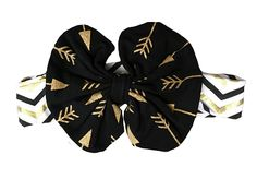 Headband (Gold Arrow)