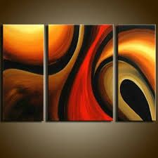 Abstract Painting, Bedroom Wall Art, Living Room Wall Art, 3 Piece Wall Art, Home Art Decor - Art Painting Canvas Living Room Canvas Painting, Canvas Paintings For Sale, Hand Painting Art, Art Paintings, Painting Canvas, 3 Piece Painting, Acrylic Paintings, Contemporary Artwork, Texture Painting