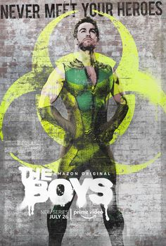 Critique : The Boys – Saison 1 Amazon Wallpaper, Boys Wallpaper, Posters Amazon, Superhero Series, Eric Kripke, Movies For Boys, Cultura Pop, Cosplay, Vintage Posters