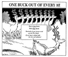 Dr. Seuss's World War II Political Propaganda Cartoons